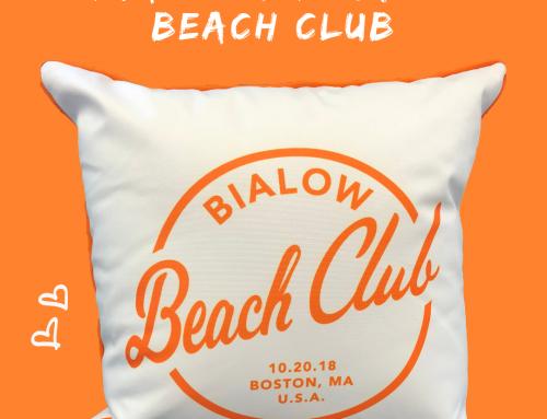 Beach Club Themed Bar Mitzvah